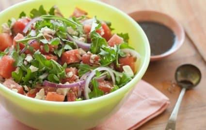 Watermelon and Arugula Salad