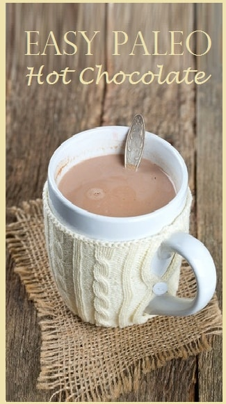 Hot Chocolate – Low Carb and Sugar Free